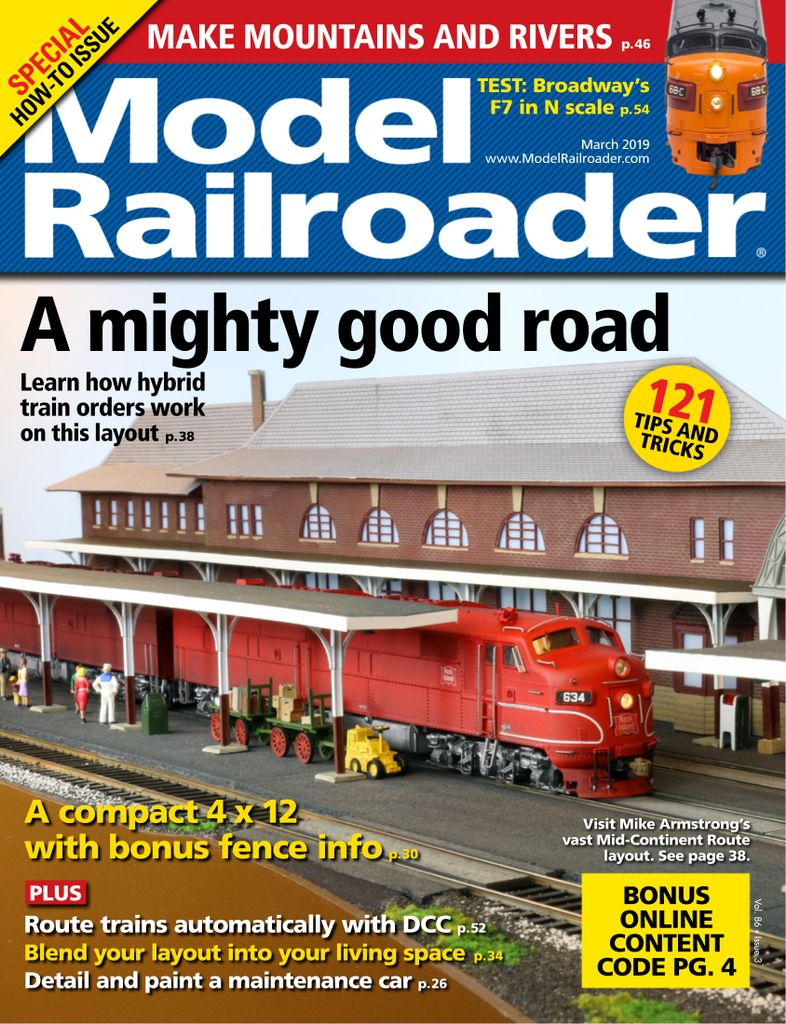 Model Railroader - March 2019