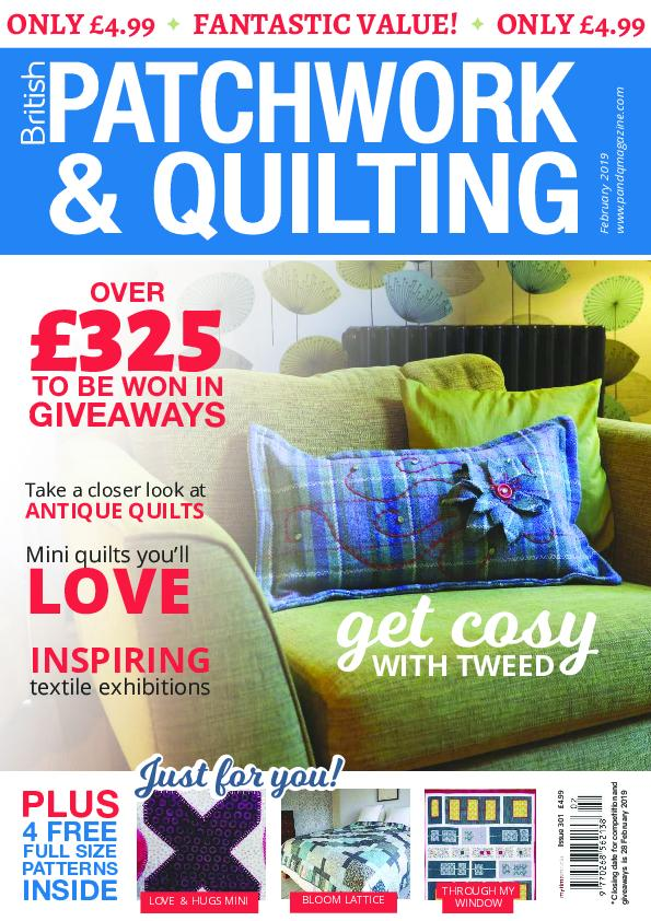 Patchwork & Quilting UK – February 2019