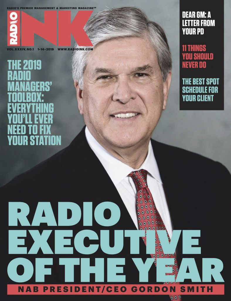 Radio Ink Magazine - January 14, 2019