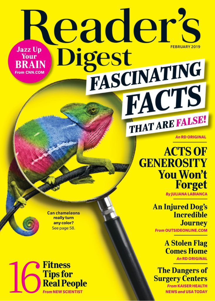 Reader's Digest USA - February 2019