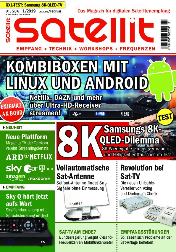 Satellit – Januar 2019