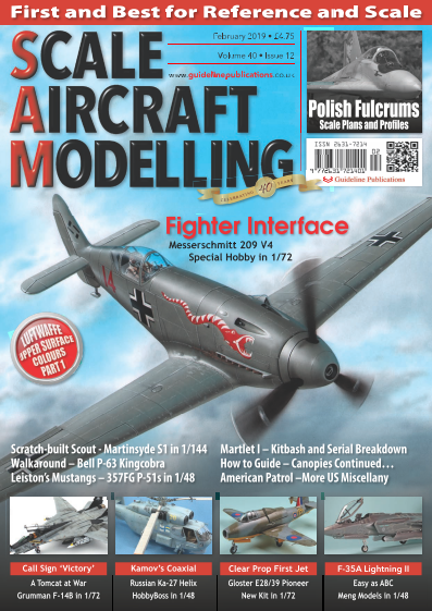 Scale Aircraft Modelling International - February 2019