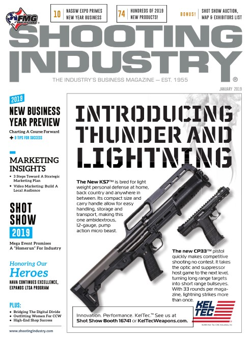 Shooting Industry Magazine - January 2019