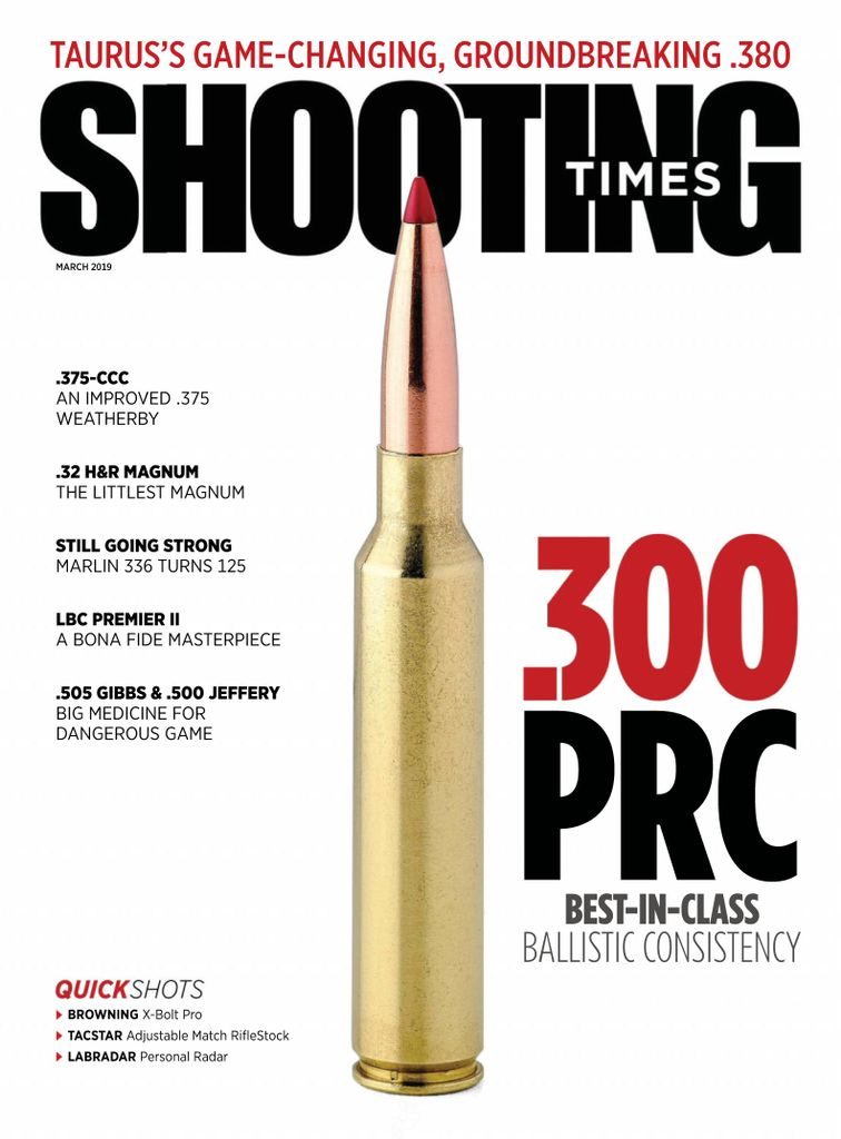 Shooting Times - March 2019