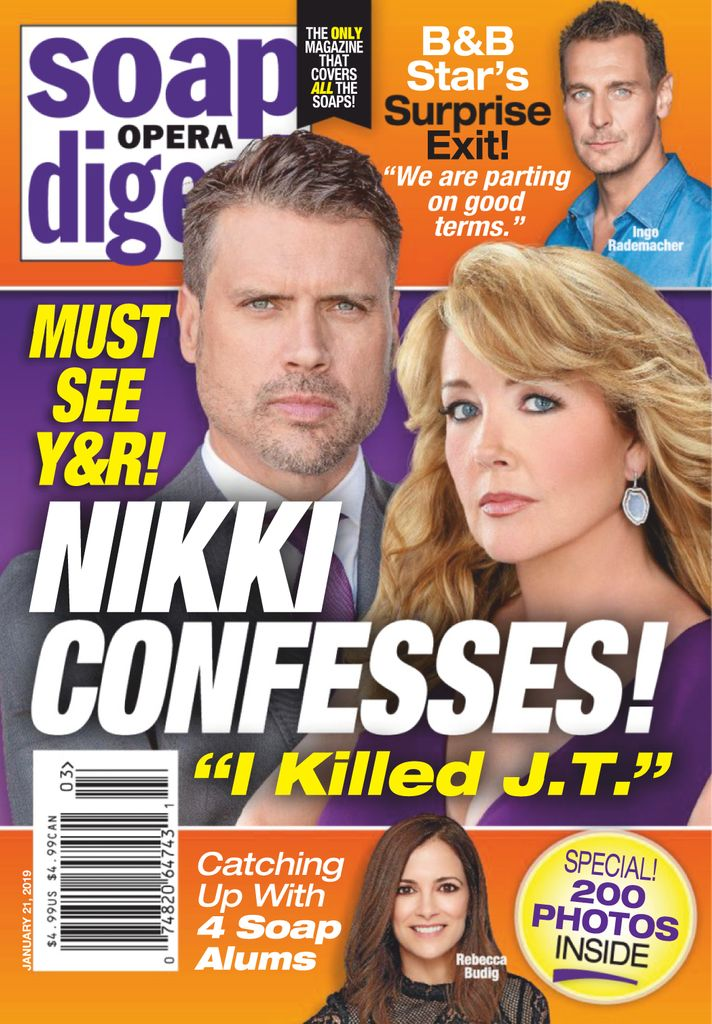 Soap Opera Digest - January 21, 2019