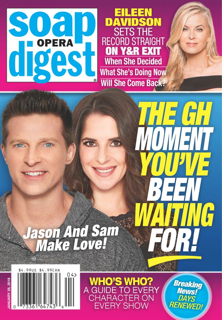 Soap Opera Digest - January 28, 2019