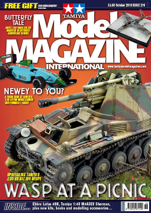 Tamiya Model Magazine – October 2018
