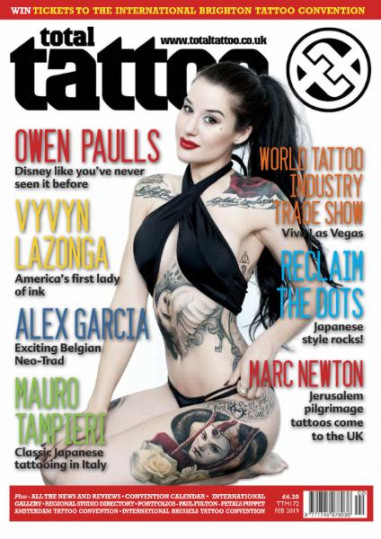 Total Tattoo - Issue 172 - February 2019