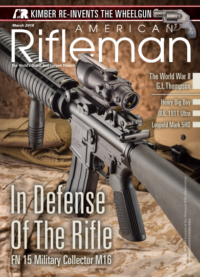American Rifleman - March 2019