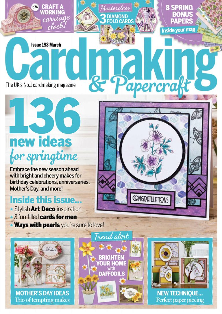 Cardmaking & Papercraft - March 2019