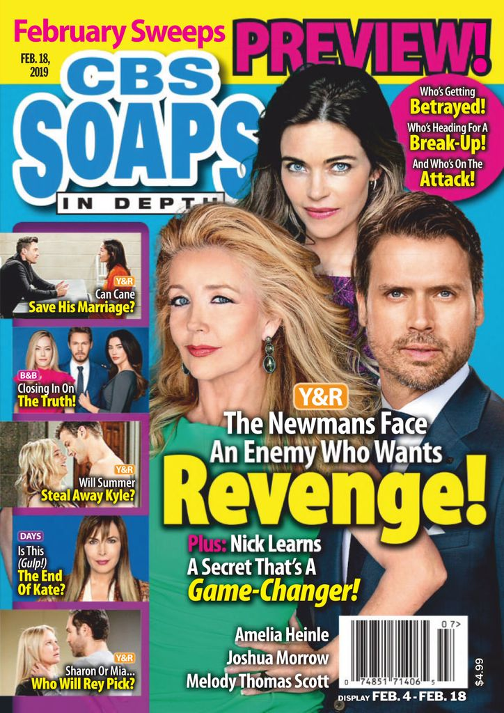 CBS Soaps In Depth - February 18, 2019