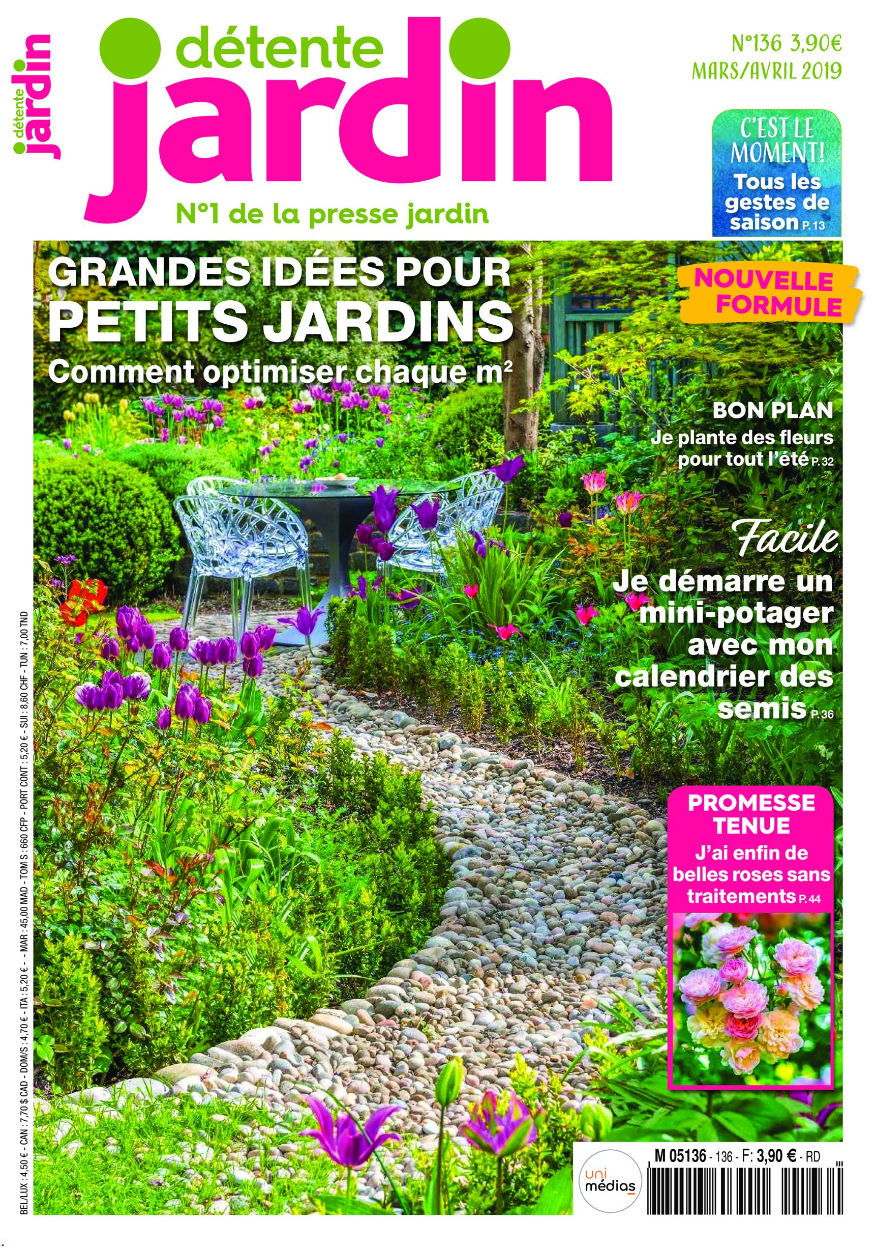 Mon Jardin En Avril détente jardin - mars/avril 2019 » free pdf magazines for