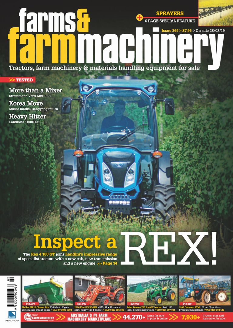 Farms and Farm Machinery - February 2019