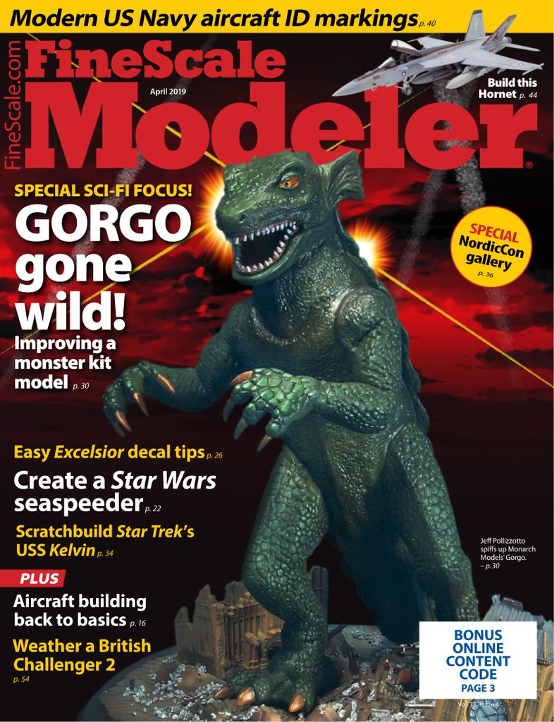 FineScale Modeler - April 2019