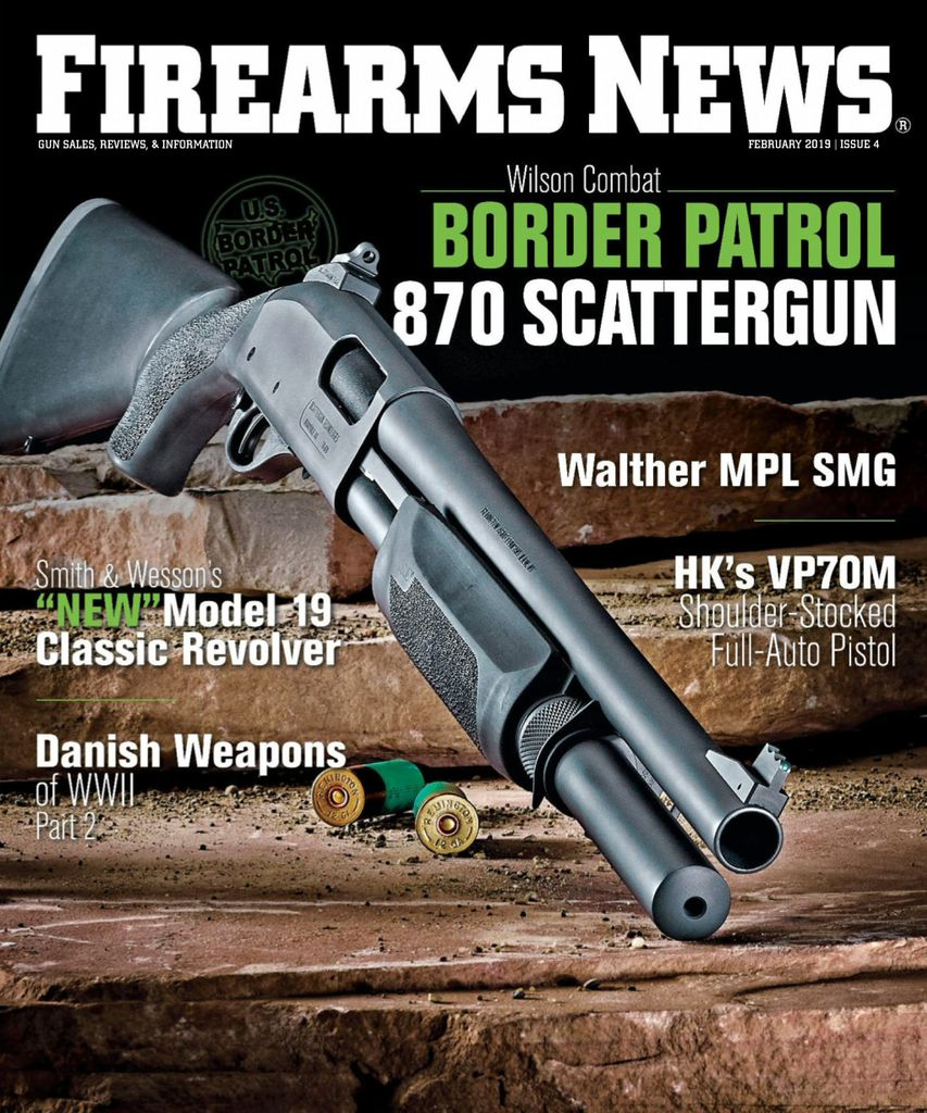 Firearms News  - February 01, 2019