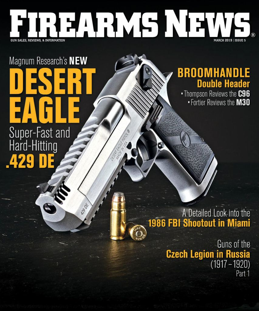 Firearms News  - March 01, 2019