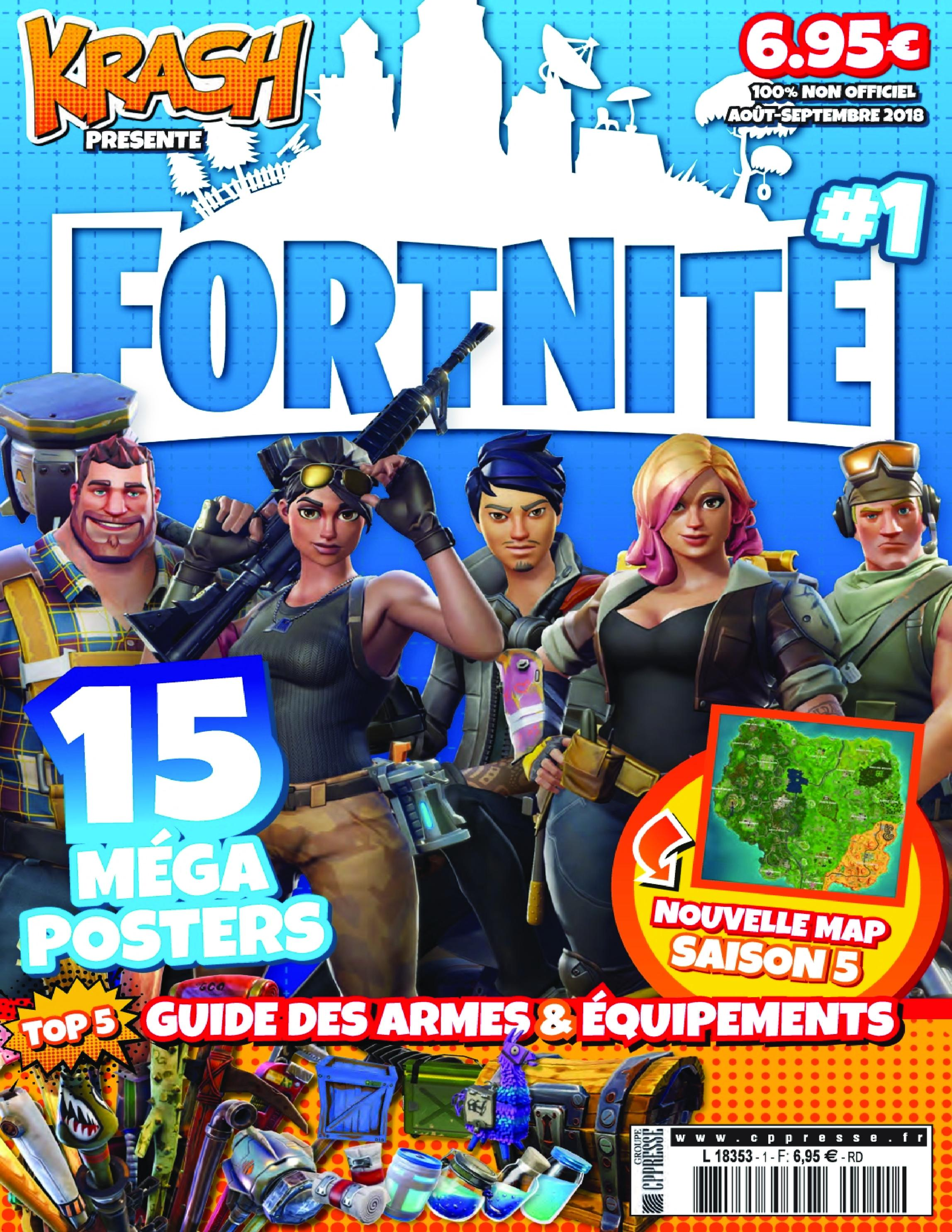 Fortnite – août 2018