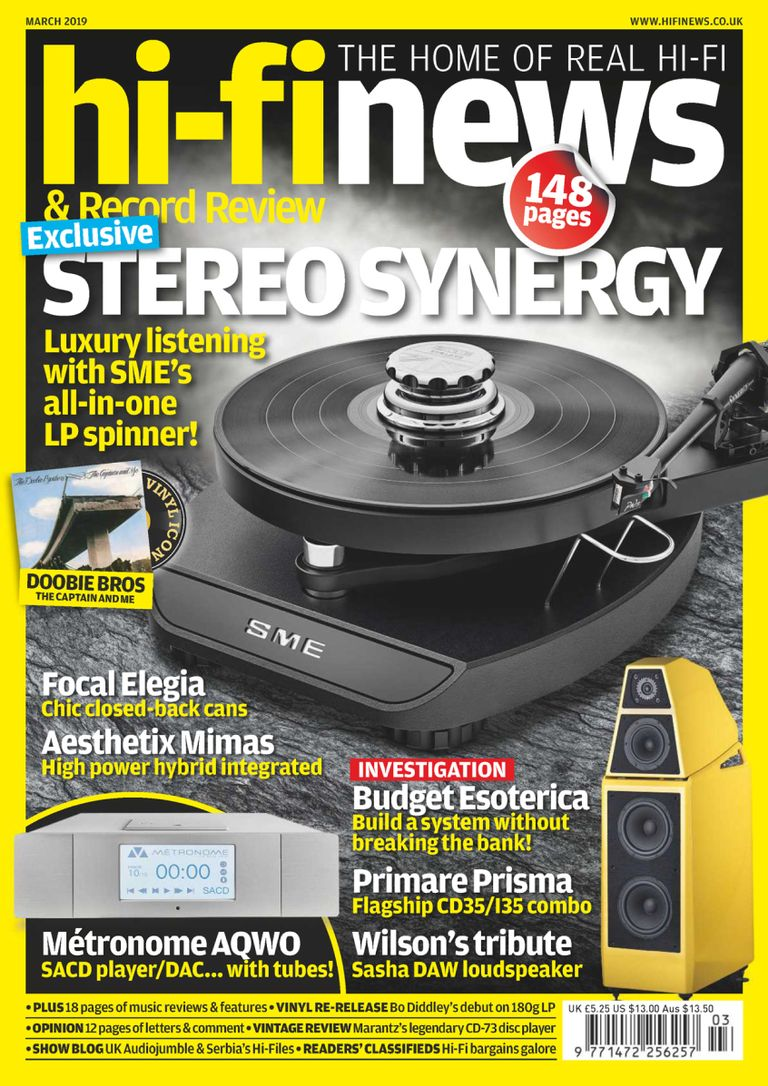 Hi-Fi News - March 2019