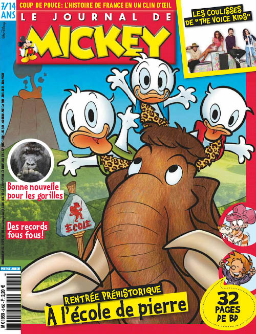 Le Journal de Mickey - 12 Septembre 2018