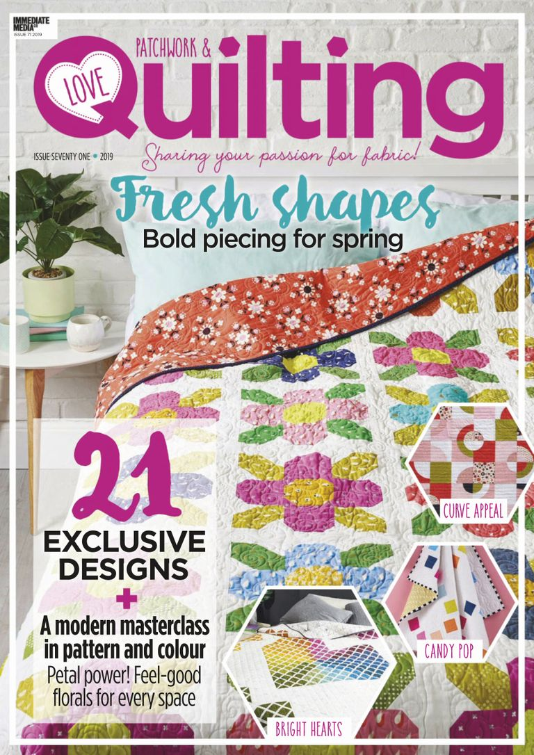 Love Patchwork & Quilting - June 2019