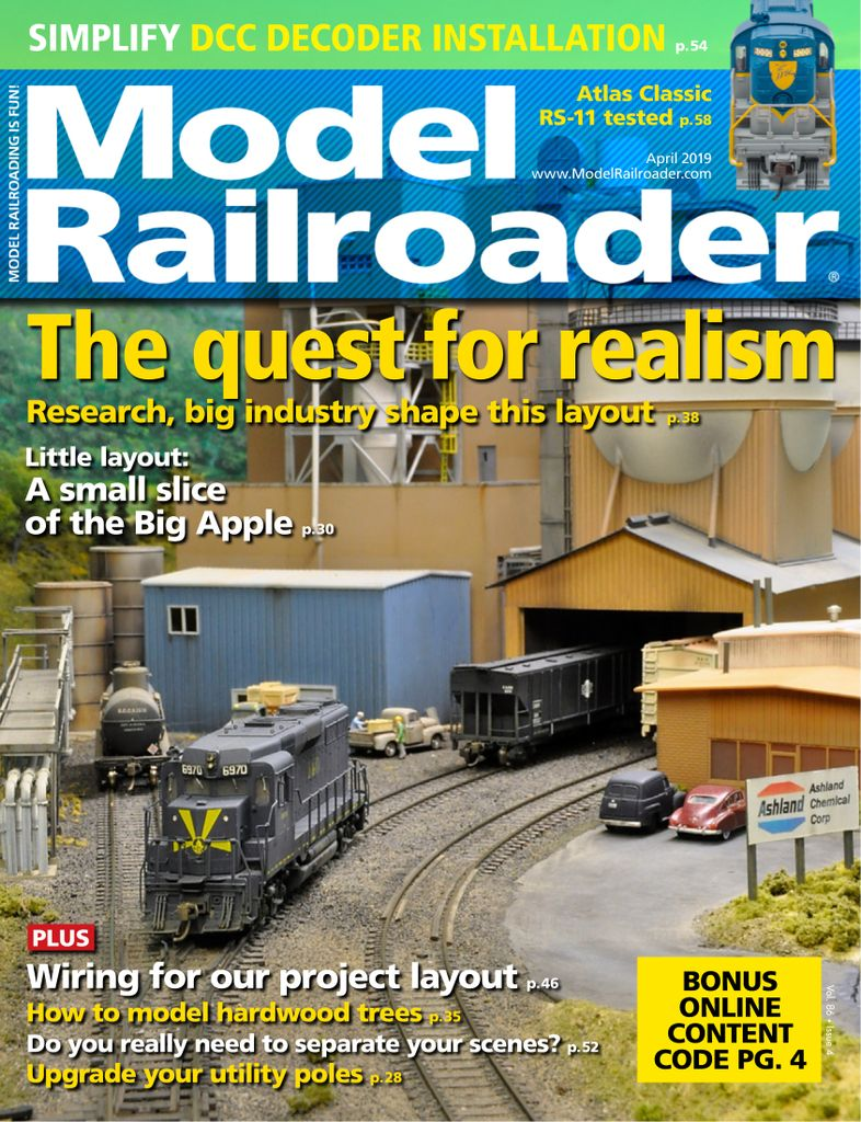 Model Railroader - April 2019