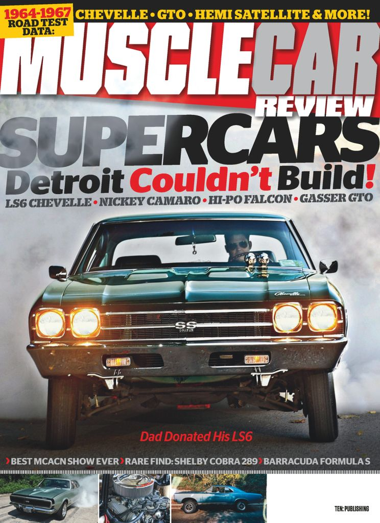 Muscle Car Review - March 2019