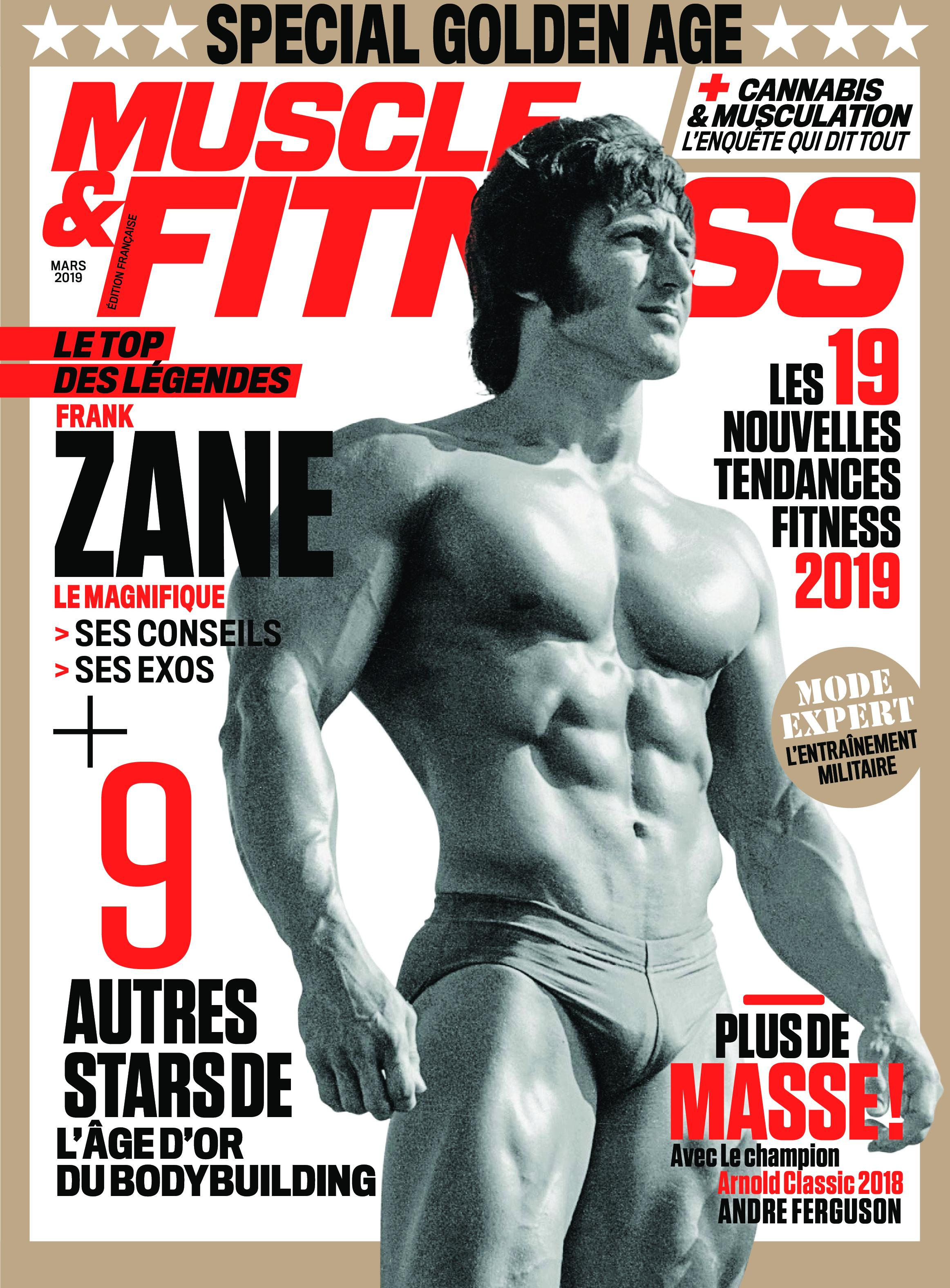 Muscle & Fitness France - février 2019