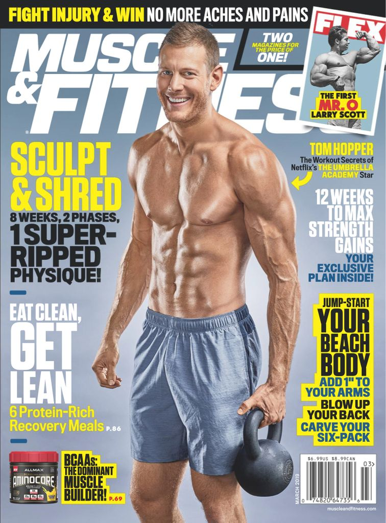 Muscle & Fitness USA - March 2019