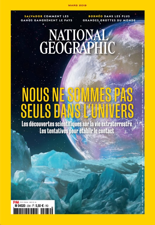National Geographic France - Mars 2019