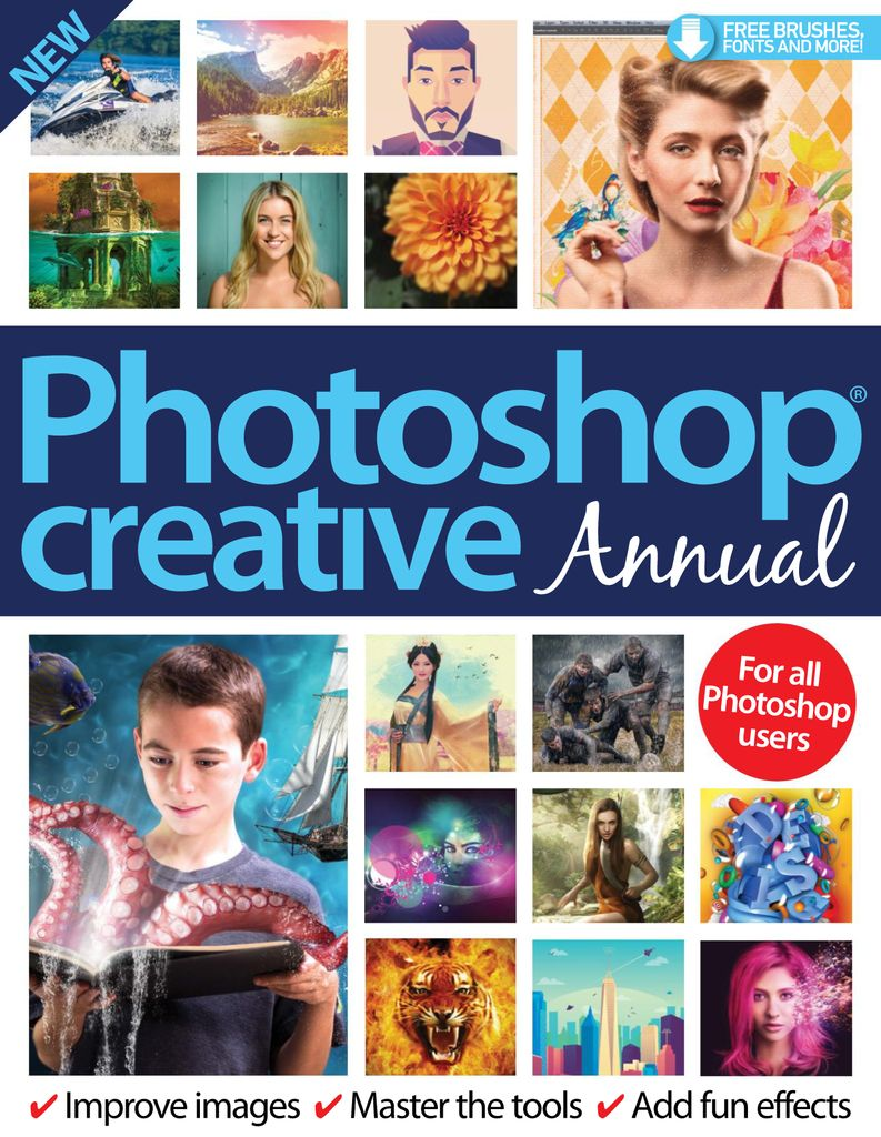 Photoshop Creative Annual – November 2016