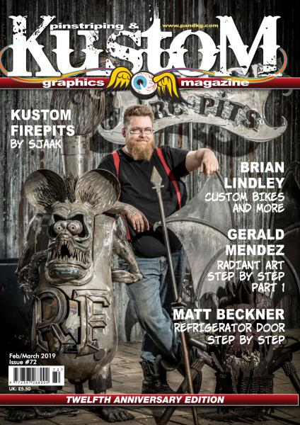 Pinstriping & Kustom Graphics English Edition - Issue 72 - February-March 2019
