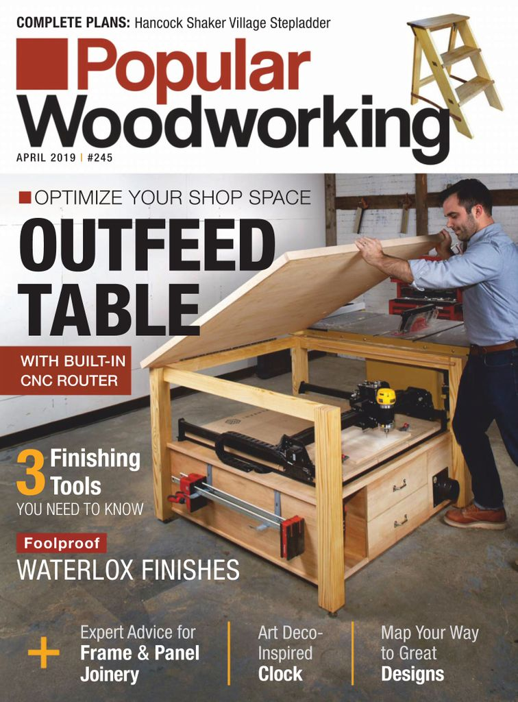 Popular Woodworking - April 2019