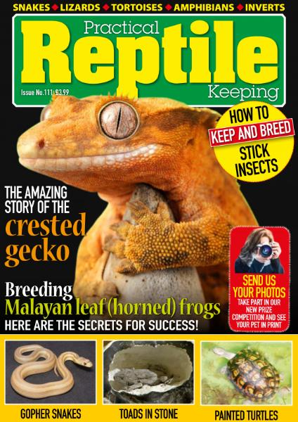 Practical Reptile Keeping - Issue 111 - February 2019