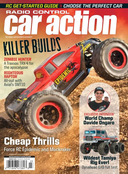 Radio Control Car Action - March 2019