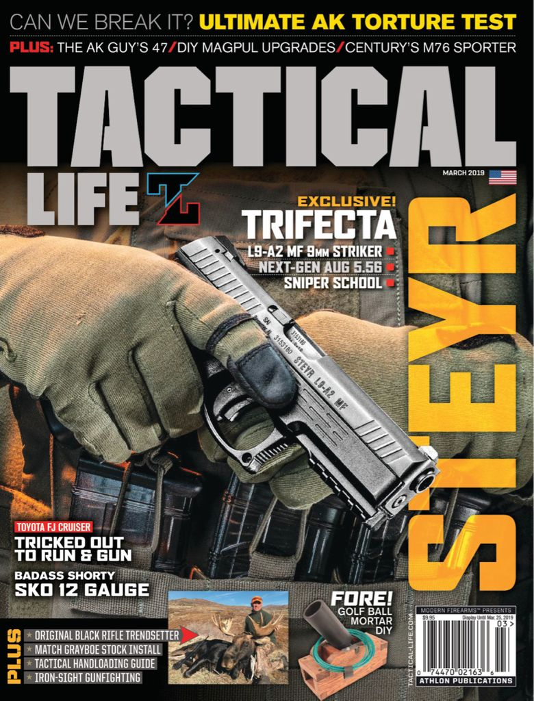Tactical Weapons - March 2019