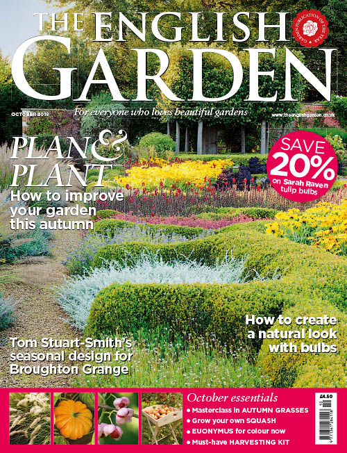 The English Garden – October 2018