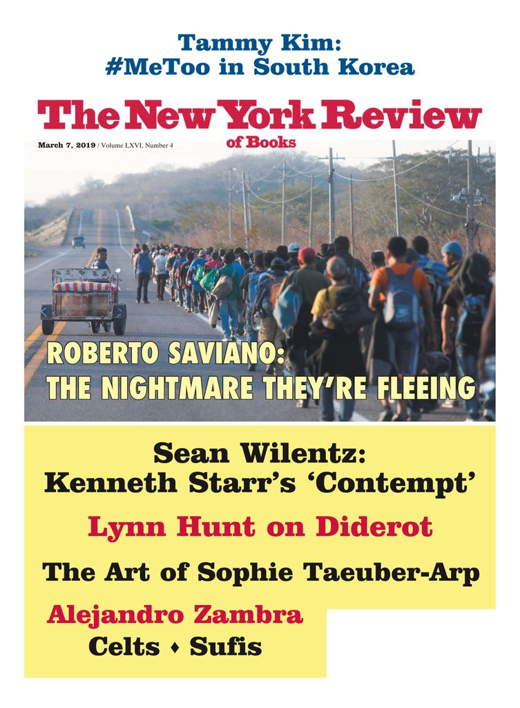 The New York Review of Books - March 07, 2019
