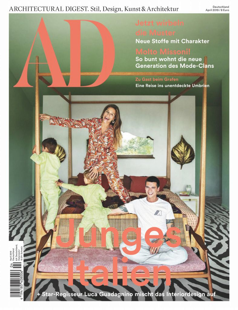 AD Architectural Digest Germany - April 2019