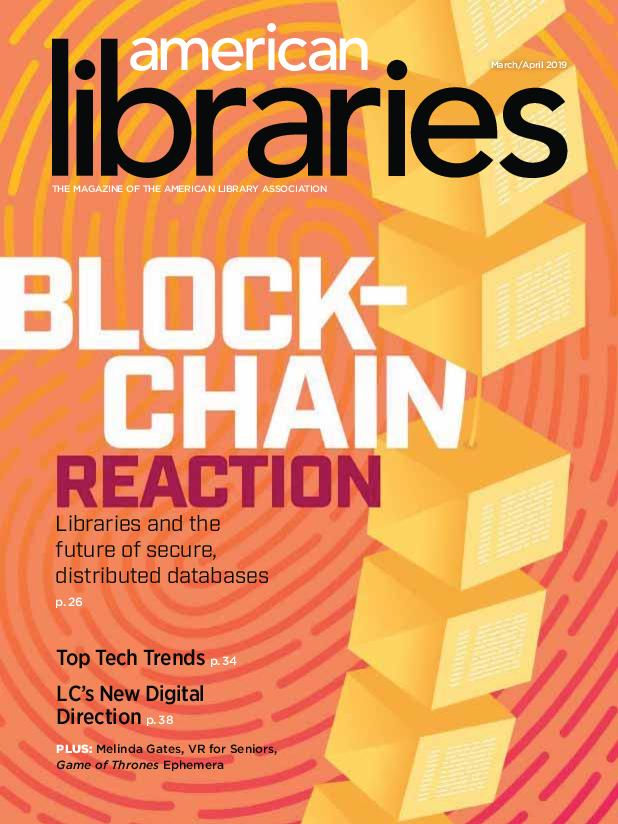 American Libraries – March 2019