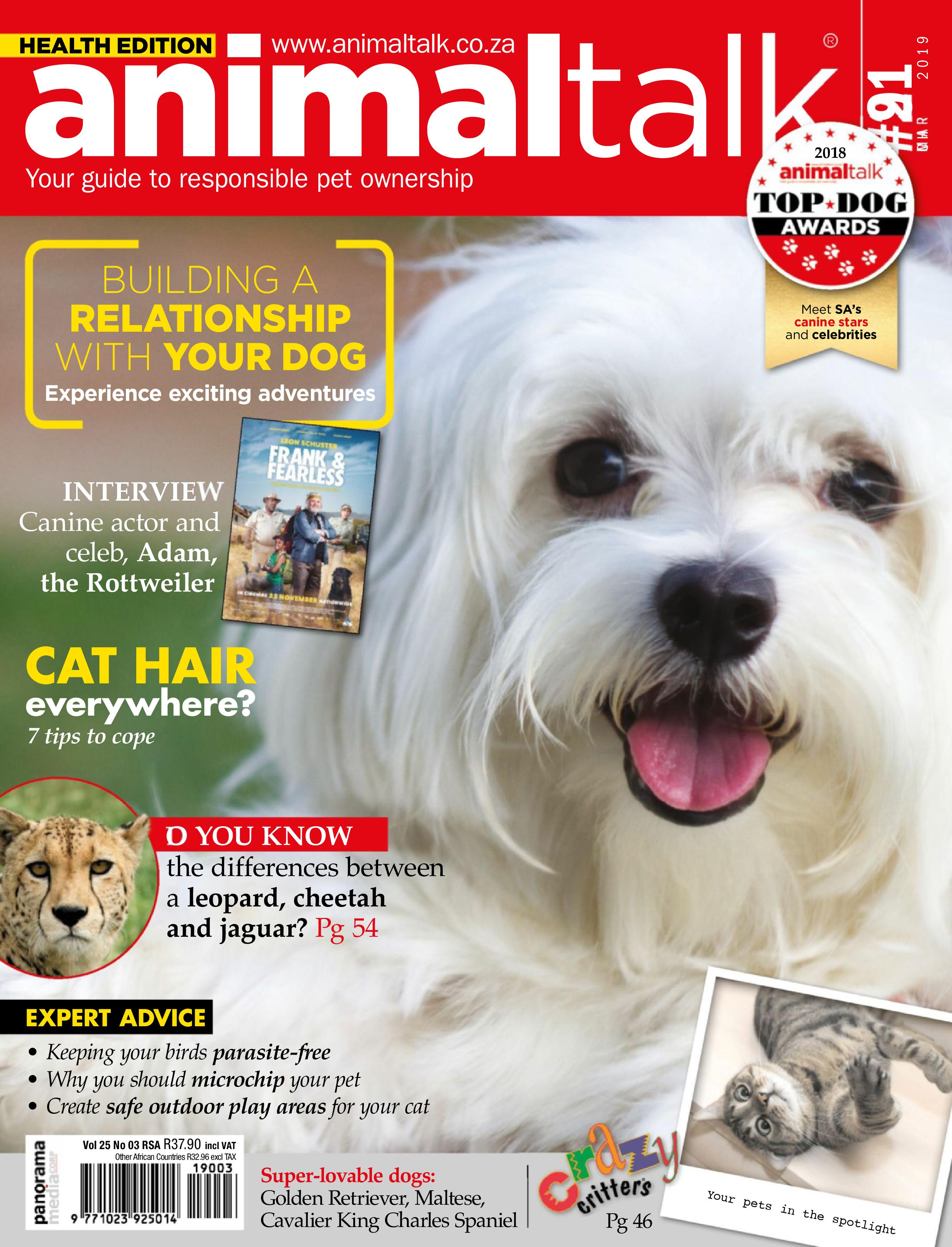 Animal Talk - March 2019