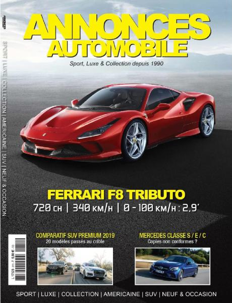 Annonces Automobile - Ferrari F8 Tributo 2019
