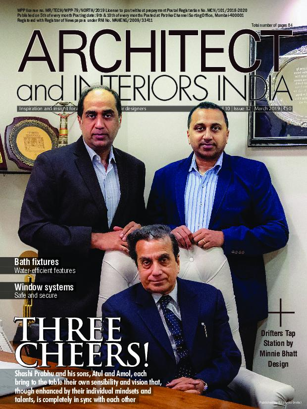 Architect and Interiors India – March 2019