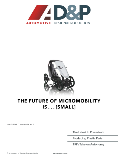 Automotive Design and Production - March 2019