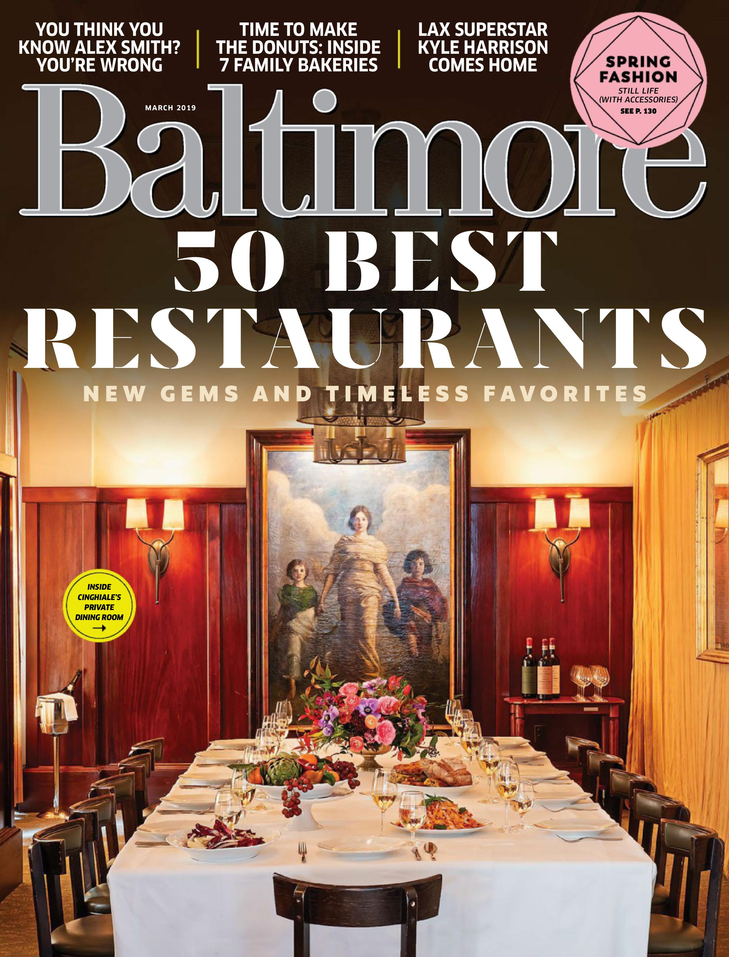 Baltimore Magazine - February 2019