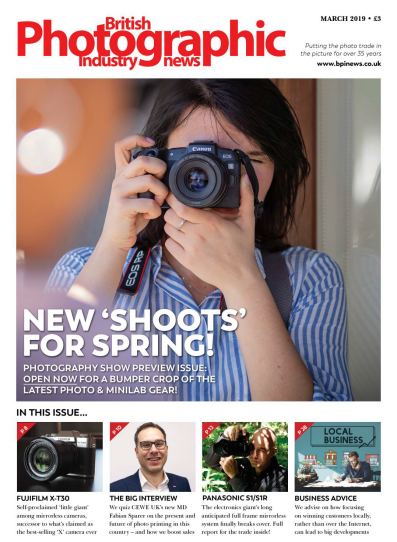 British Photographic Industry News - March 2019