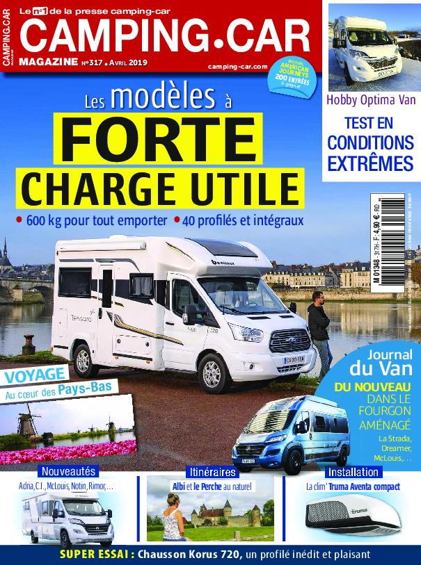 Camping-Car Magazine - avril 2019