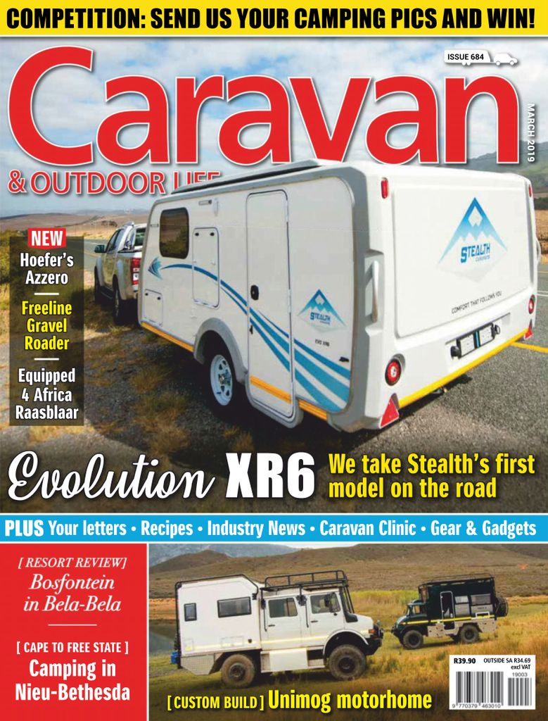 Caravan & Outdoor Life - March 2019
