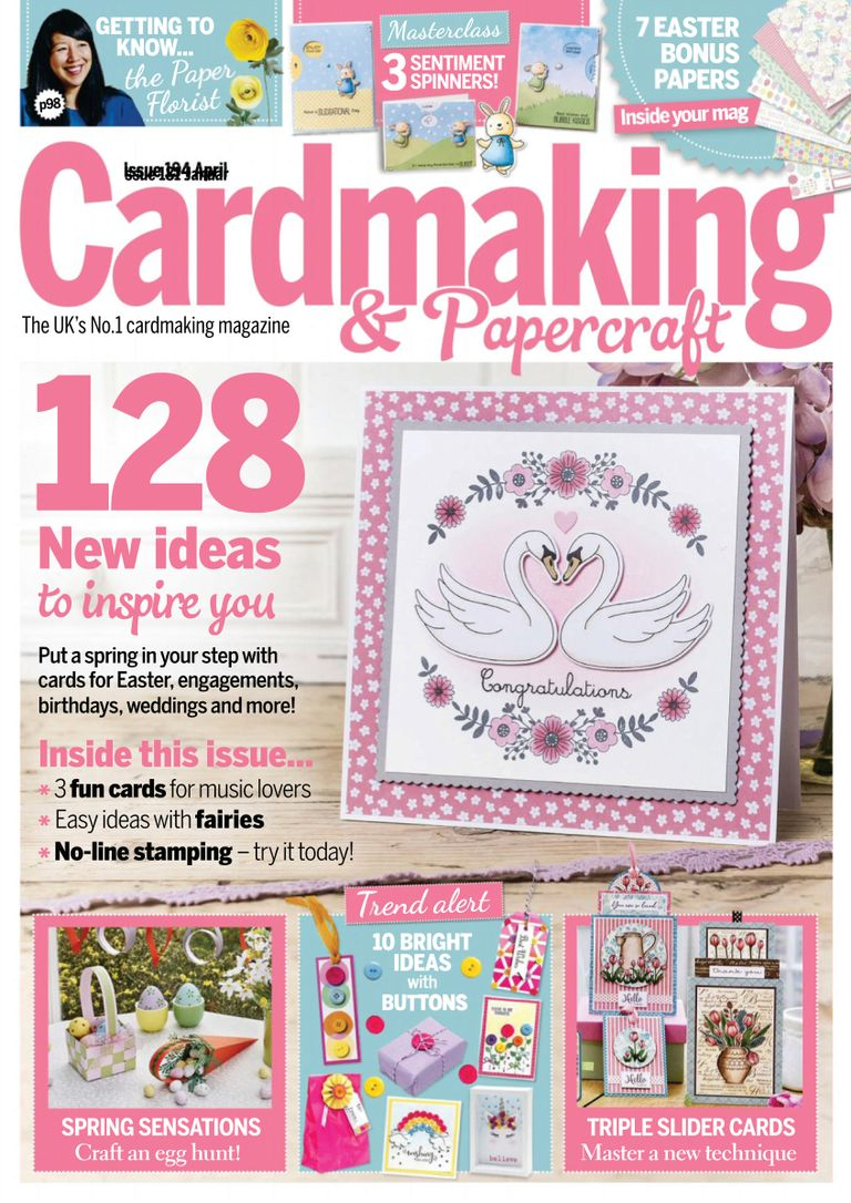 Cardmaking & Papercraft - April 2019