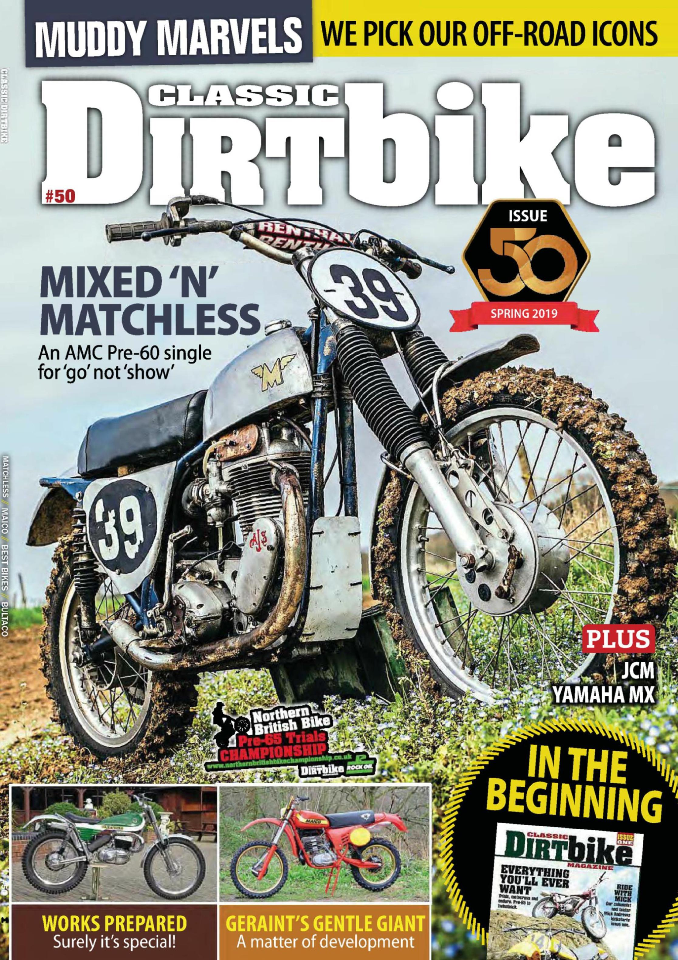 Classic Dirt Bike - March 2019