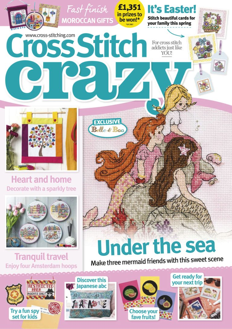 Cross Stitch Crazy - May 2019